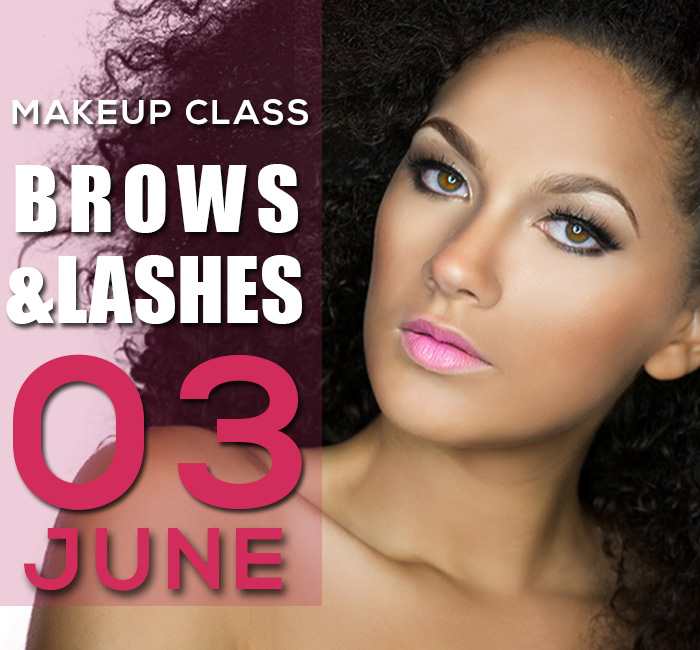 MAKEUP CLASS 2018 BROWS AND LASHES